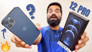 Apple iPhone 12 Pro Unboxing & First Look - Pro Grade Everything🔥🔥🔥