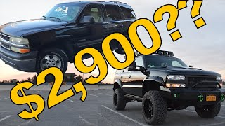 $2900 BEATER TO BEAST! Lifted Tahoe evolution & timeline