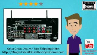 [Review & SALE] Onkyo TX-NR838 7.2-Ch Dolby Atmos Ready Network A/V Receiver