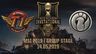 SKT vs IG [MSI 2019] [14.05.2019] [Group Stage]