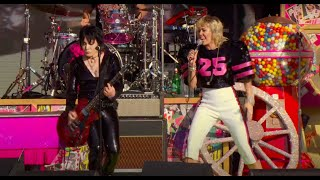 Miley Cyrus and Joan Jett - Super Bowl Pre-Show Performance