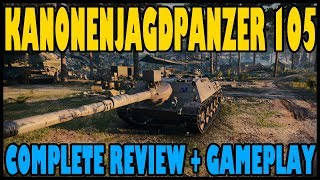World of Tanks: Kanonenjagdpanzer 105 Review | Gameplay + Complete Breakdown