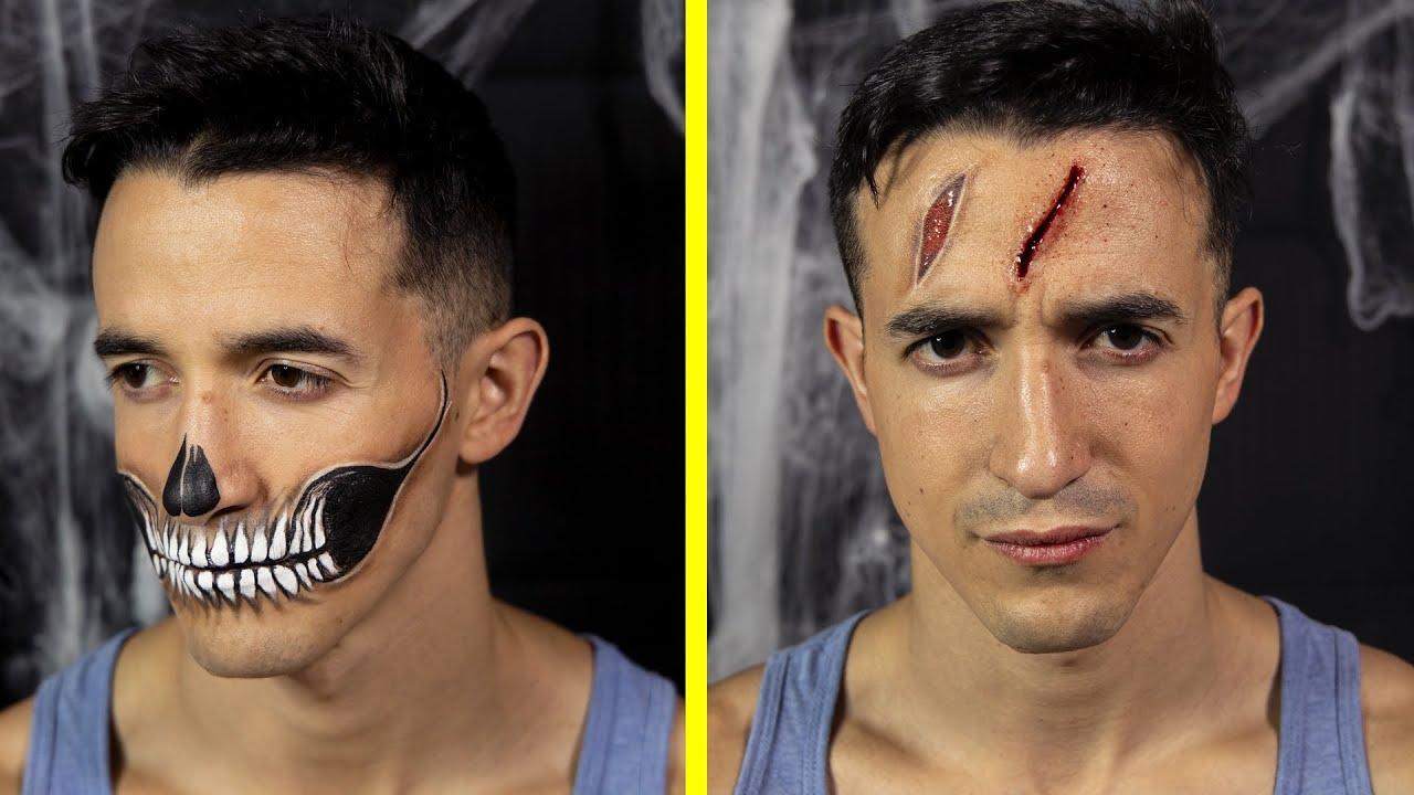 Mon maquillage d'Halloween effrayant ! (tuto makeup DIY facile et rapide)