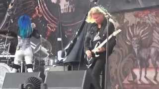 """ARCH ENEMY - """"You will know my name"""" - 2015-07-17 - Balingen - Bang Your Head !!! Festival"""