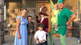 TINKER BELL AND FAMILY FLY OFF TO NEVER LAND FOR A HAPPY HALLOWEEN