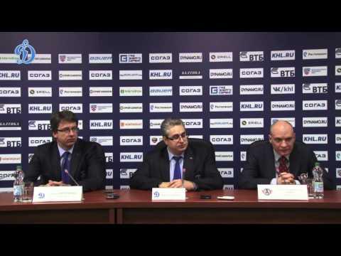 Пресс-конференция - «Динамо» 3:2 ОТ «Автомобилист» (13.10.15)