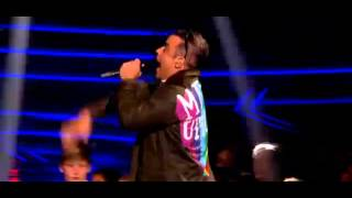 Goin' Crazy - Robbie Williams & Dizzee Rascal (Live The Voice UK)