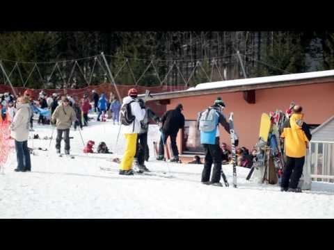 Station de ski du Lac Blanc en Alsace