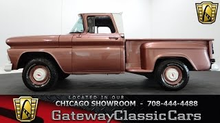 1963 Chevrolet C10 Stepside Stock #23 Gateway Classic Cars