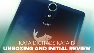 Kata i3 by Kata Digital Unboxing and Initial Review - 1.3Ghz Quad Core Smartphone PHP8,499