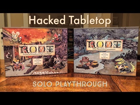 Root by Leder Games Solo - Hacked Tabletop