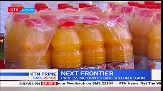 Next Frontier: A processing firm established in Siaya