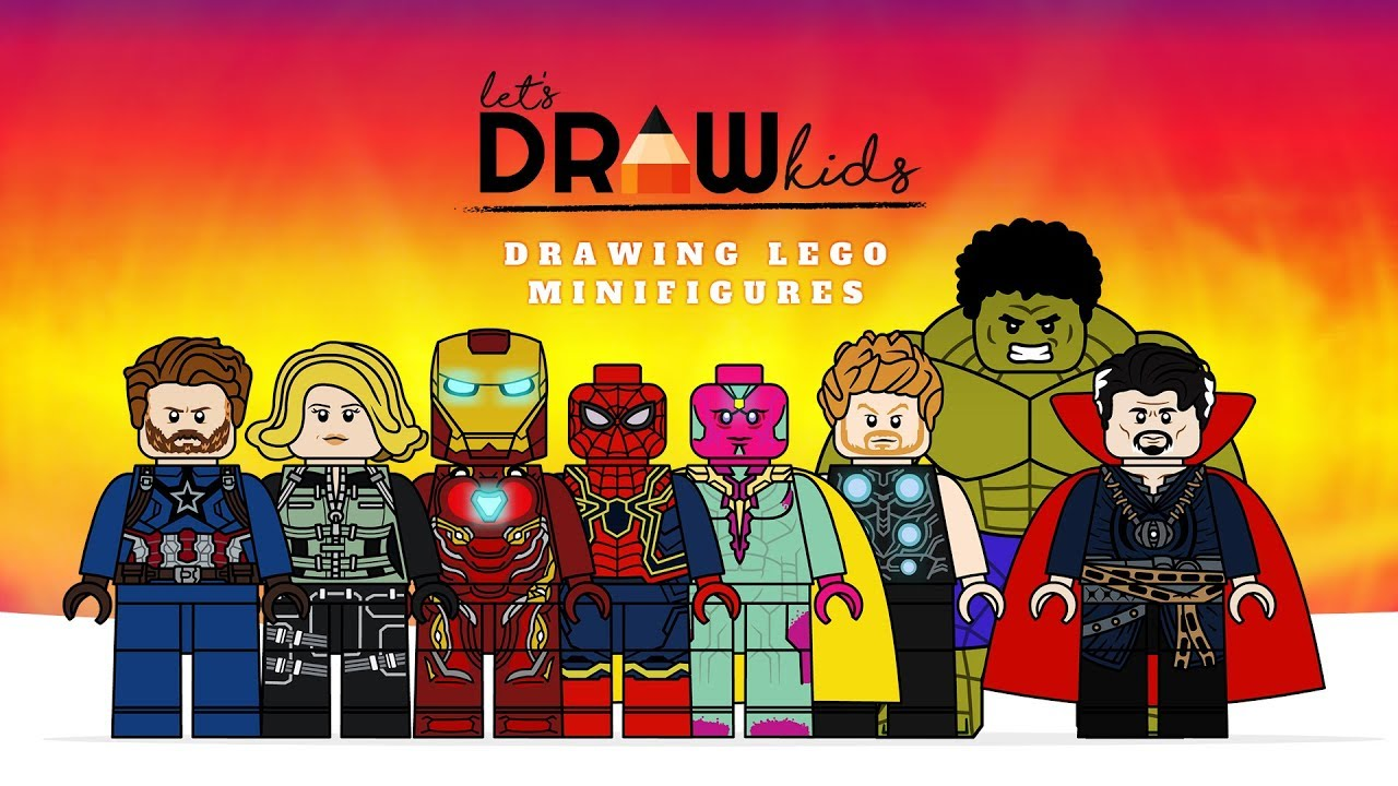 Drawing Lego Avengers Infinity War