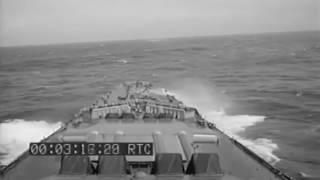 Battleship Richelieu in the Suez Canal, 1944