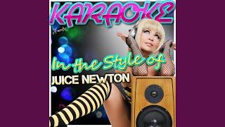 Emotions (In the Style of Juice Newton) (Karaoke Version)