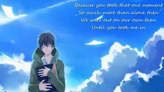 ღ Nightcore - Yours Truly ~ With Lyrics (Paradise Fears)