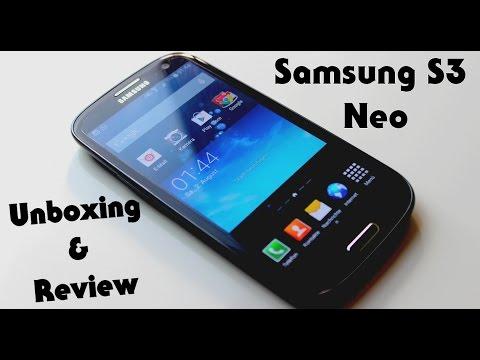 Samsung Galaxy S3 Neo DEUTSCH - Unboxing & Review - Samsung S3 Neo Deutsch Unboxing
