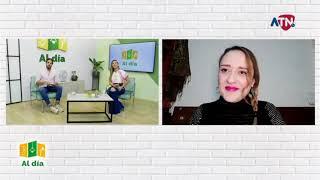 LA ACTRIZ MARIA IRENE TORO EN ATN TELEVISIÓN