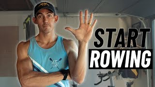 THE Beginner's Guide to Rowing: 5 Tips to START