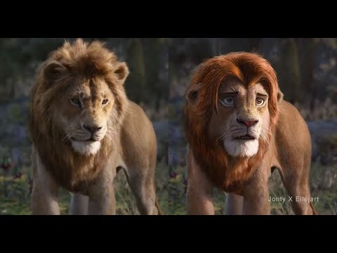 "I used ""deep fakes"" to fix the Lion King"