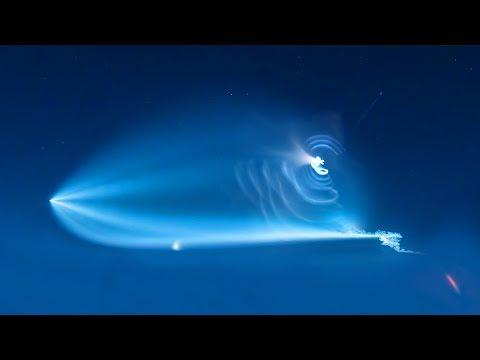 Proč rakety někdy na obloze vytvářejí pozoruhodné obrazce? - Svět Elona Muska
