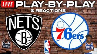 Brooklyn Nets vs Philadelphia 76ers   Live Play-By-Play & Reactions