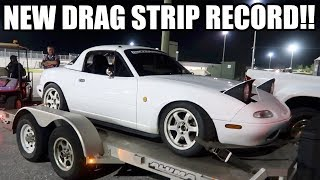 SETTING A MIATA RECORD!