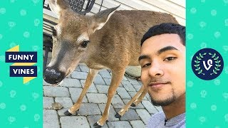 """TRY NOT TO LAUGH - Cold Game Kelv """"Brother Nature""""   Deer Squad"""