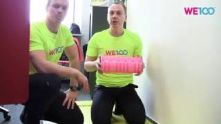 Releasing Your Thigh Muscles | We100 Office Fitness Videos | Eps 06