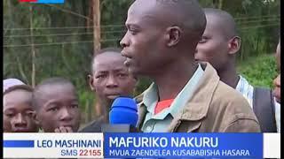 Mvua zaendelea kusababisha hasara Nakuru