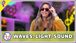 Waves, Light and Sound - Physics 101 / AP Physics 1 Review with Dianna Cowern