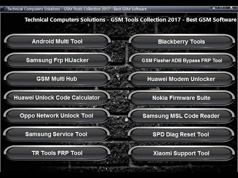 vTyoob - GSM Tools Collection 2K17 All Frp Mi Account Tool