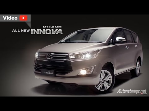 All New Toyota Kijang Innova 2016