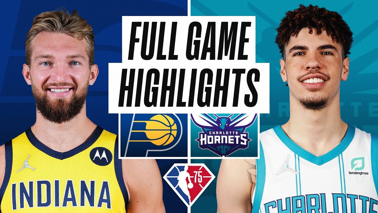 PACERS at HORNETS | FULL GAME HIGHLIGHTS | October 20, 2021