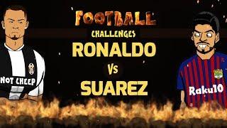 Download Video 🔥RONALDO vs SUAREZ: Football Challenges!🔥 (Parody) MP3 3GP MP4