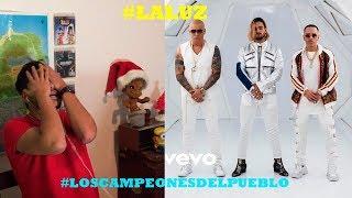 Wisin & Yandel, Maluma - La Luz (Official Video) Reacción