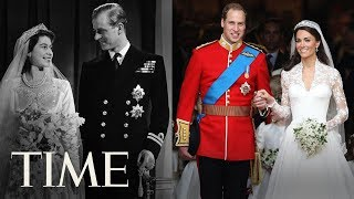 Royal Weddings Through The Years - From Queen Elizabeth to Prince William