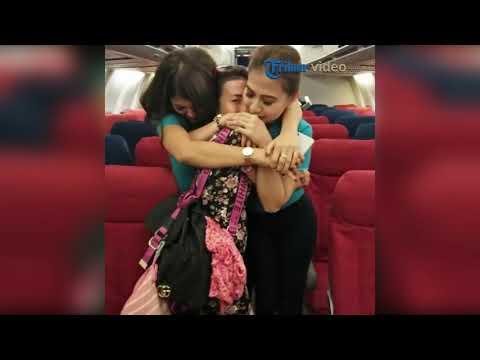 Detik-detik Mencekam di Pesawat, Penumpang Pasrah