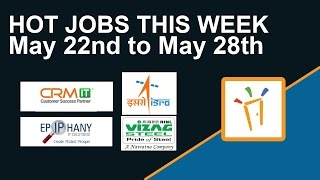 Here are the latest trending jobs for the week in FreshersworldcomISRO Vizag
