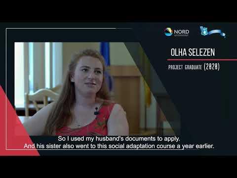 Відео-відгук випускниці проекту «Норвегія-Україна» Ольги Селезень