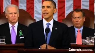 SOTU 2013: Obama makes emotional gun control plea
