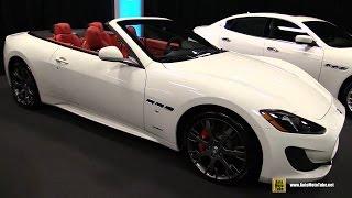 2015 Maserati GranTurismo C Sport - Exterior and Interior Walkaround - 2015 Montreal Auto Show