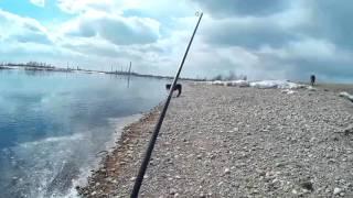 Ловля черного хариуса в реке ангаре