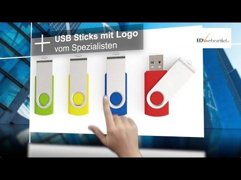 USB Stick mit Logo | USB Stick Werbeartikel von edv-werbeartikel.de
