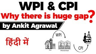 Difference in Wholesale Price Index & Consumer Price Index, Why there is a huge gap in WPI & CPI?