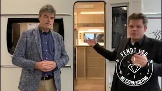 Caravan van het jaar 2021 Fendt Tendenza 465 SFB met LTD voordeel !