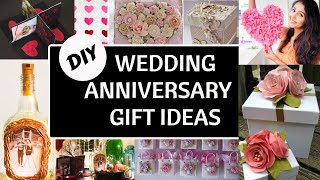 DIY ANNIVERSARY GIFT AND DECORATION IDEAS | FOR COUPLES ANNIVERSARY OR PARENTS ANNIVERSARY