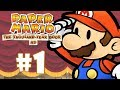 Paper Mario The Thousand year Door 1 O In cio Da Aventu