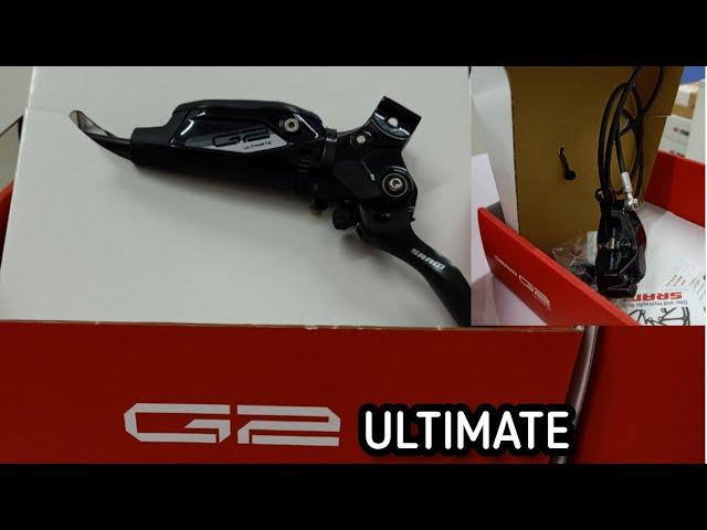 Видео Тормоз дисковый передний Sram G2 Ultimate Carbon Disc Brake Rainbow Hardware Reach SwingLink Contac Blk F
