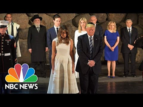 President Trump Pays Respects At Israel's Holocaust Memorial And Museum | NBC News